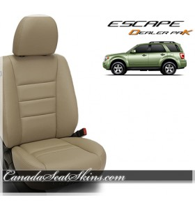 2009 - 2012 Ford Escape Dealer Pak Leather Upholstery Packages