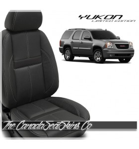 2010 - 2014 GMC Yukon Katzkin Limited Edition Carbon Leather Seat Sale