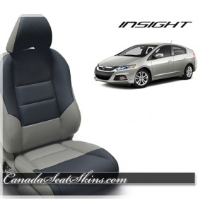 2010 2011 2012 2013 2014 Honda Insight Blue and Ash Leather Seats