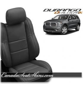 2011 - 2019 Dodge Durango Wholesale Leather Seat Covers Black