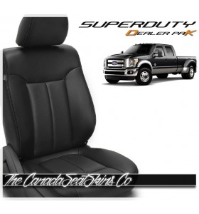 2011 - 2016 Ford F250 F350 F450 F550 Leather Seat Promo Pak