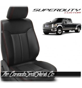 2011 - 2016 Ford F250 F350 F450 F550 Superduty Custom Leather Seats
