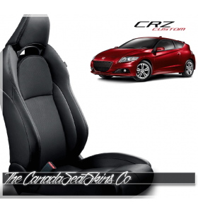 2011 - 2016 Honda CRZ Katzkin Black Leather Seat Sale