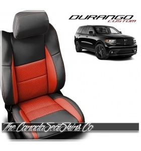 2011 - 2020 Dodge Durango Custom Salsa Katzkin Leather Seat Sale
