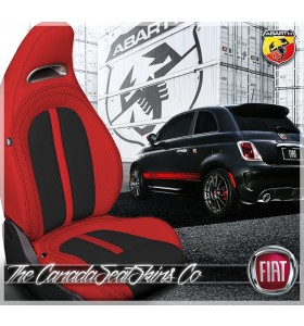 2012 - 2013 Fiat 500 Abarth Custom Katzkin Leather Seat Sale