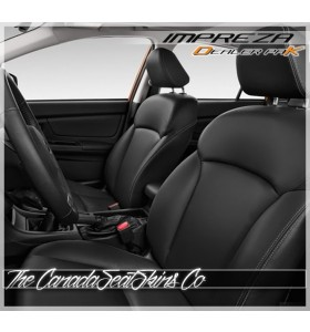 2012 - 2016 Subaru Impreza Black Dealer Pak Leather Kit Promotion