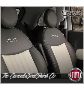 2012 - 2020 Fiat 500 and 500C Katzkin Custom Leather Seat Promotion