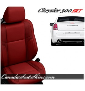 2012 - 2014 Chrysler 300 SRT8 Red Leather Seats