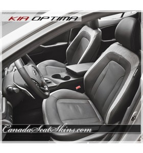2012 - 2016 Kia Optima Hybrid Katzkin Leather Seats