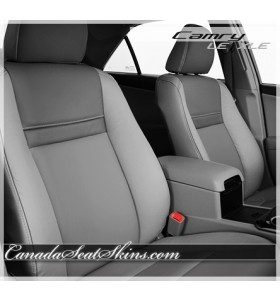 2012 - 2014 Toyota Camry LE Custom Grey Leather Seats