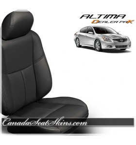 2013 - 2015 Nissan Altima Black Leather Seats