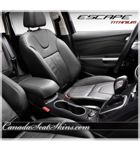 2013 - 2016 Ford Escape Titanium Katzkin Leather Seats