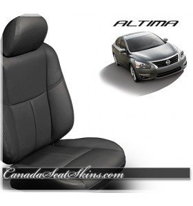 2013 - 2017 Nissan Altima Black Katzkin Leather Seats