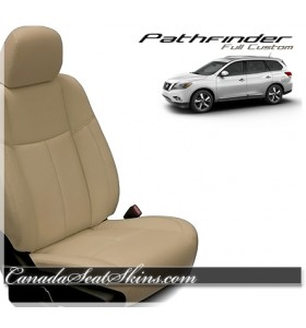 2013 - 2019 Nissan Pathfinder Katzkin Leather Seats