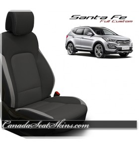 2013 - 2018 Hyundai Santa Fe Katzkin Custom Leather Seats