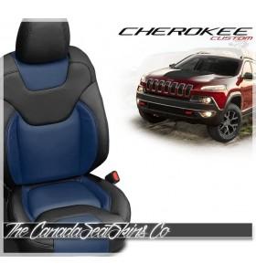 2014 - 2021 Jeep Cherokee Katzkin Custom Leather Seat Sale