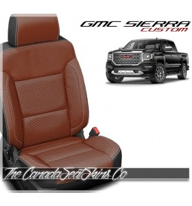 2014 - 2018 GMC Sierra Katzkin Cognac Custom Leather Seat Sale