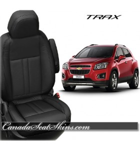Chevrolet Trax Katzkin Black Leather Seats