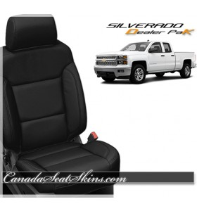 2014 - 2018 Chevrolet Silverado Dealer Pak Leather Seats