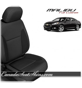 2013 - 2016 Chevrolet Malibu Black Katzkin Leather Seats
