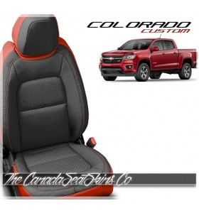 2015 - 2021 Chevrolet Colorado Katzkin Custom Leather Seat Sale