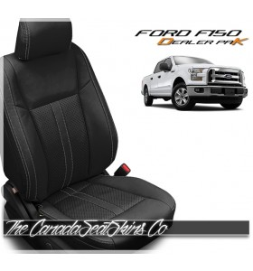 2015 - 2020 Ford F150 Black Katzkin Leather Sale