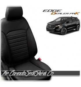 2015 - 2020 Ford Edge Katzkin Dealer Pak Leather Seat Sale Black