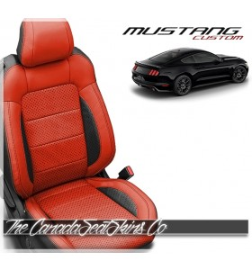 2015 - 2021 Ford Mustang Katzkin Custom Leather Seat Sale