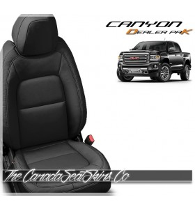 2015 - 2020 GMC Canyon Katzkin DK Leather Interior Dealer Promotion