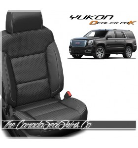 2015 - 2020 GMC Yukon Katzkin Dealer Pak Leather Seat Cover Promo