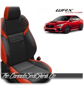 2015 - 2020 Subaru WRX Custom Katzkin Leather Seat Sale