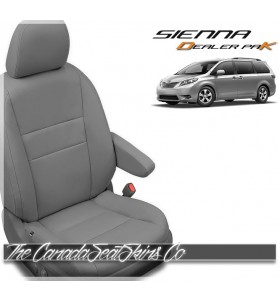2015 - 2020 Toyota Sienna Katzkin Leather Seat Cover Sale