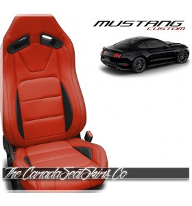 2015 - 2021 Ford Mustang Recaro Katzkin Custom Leather Seat Sale