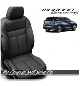2015 - 2020 Nissan Murano Dealer Pak Leather Seat Cover
