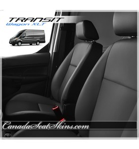 2015 - 2019 Ford Transit Wagon Katzkin Leather Seats