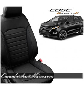 2015 - 2019 Ford Edge Katzkin Leather Seat Sale Black