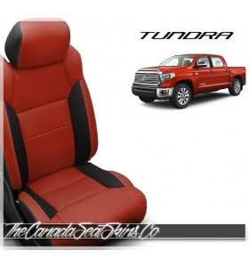 2014 - 2020 Toyota Tundra Katzkin Custom Salsa Leather Seats