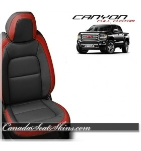 2015 - 2019 GMC Canyon Katzkin Red Leather Seats