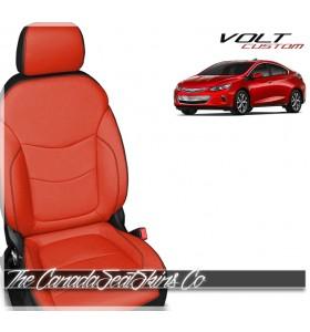 2016 - 2019 Chevrolet Volt Custom Salsa Red Katzlin Leather Seat Sale