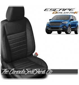 2017 - 2019 Ford Escape Katzkin Black Dealer Pak Promo Leather Kits