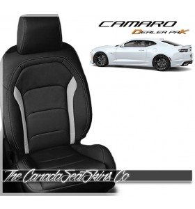 2016 - 2020 Chevrolet Camaro Black Katzkin Leather Seat Sale