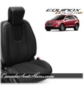 2010 - 2017 Equinox Black Wholesale Leather Seats