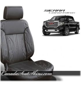 2016 - 2018 GMC Sierra Custom Zkintech Freestyle Edition Leather Seats