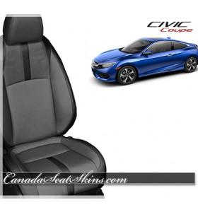 2016 - 2019 Honda Civic Coupe Katzkin Leather Seats