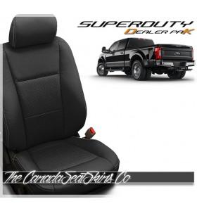2017 - 2020 Ford F250 F350 F450 F550 Katzkin Black Leather Seat Promotion