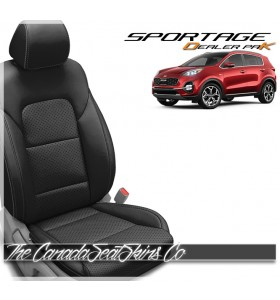 2017 - 2021 Kia Sportage Katzkin Dealer Pak Leather Promotion