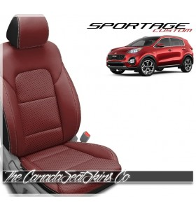 2017 - 2021 Kia Sportage Custom Katzkin Leather Seat Sale