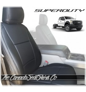 2017 - 2021 Ford Superduty Commercial Fleet Seat Covers