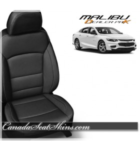 2016 2017 2018 2019 Chevrolet Malibu Black Katzkin Leather Seats