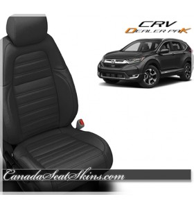 2017 - 2019 Honda CRV Katzkin Leather Seats Black